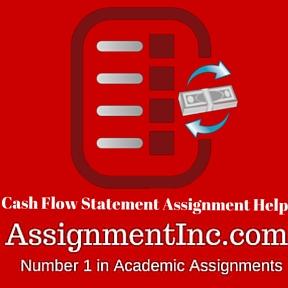 Cash Flow Statement Assignment Help