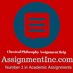Classical Philosophy Assignment Help