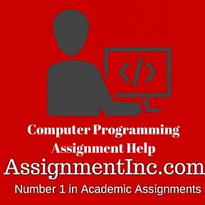Computer Programming Assignment Help