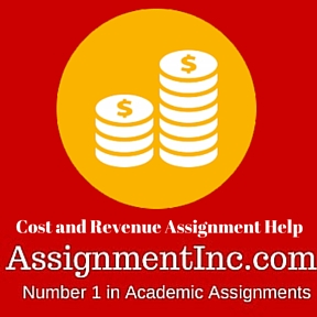 Cost and Revenue Assignment Help