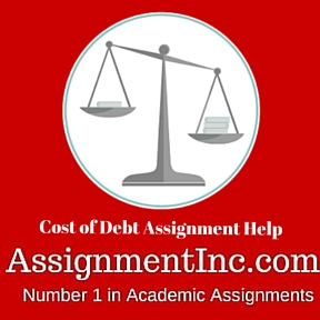 Cost of Debt Assignment Help