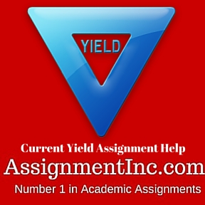 Current Yield Assignment Help