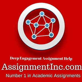 Deep Engagement Assignment Help
