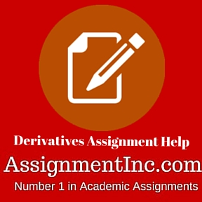 Derivatives Assignment Help