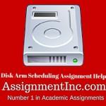 Disk Arm Scheduling