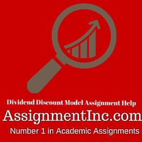 Dividend Discount Model Assignment Help