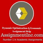 Dynamic Optimization & Economic