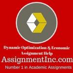 Dynamic Optimization & Economic