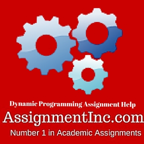 Dynamic Programming Assignment Help