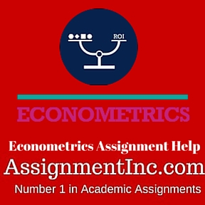 econometrics assignment help In the field of statistics and mathematics theories,econometrics is applied for the purpose to test hypothesis and forecast the future trends.