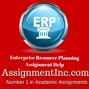 information enterprise resource planning and assignment Enterprise resource planning assignment answers deliver the best presentation on enterprise resource planning enterprise resource planning is an integrated managing format of the primary processes in a business.
