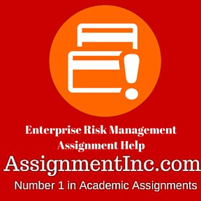 Enterprise Risk Management Assignment Help