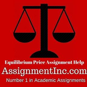 Equilibrium Price Assignment Help