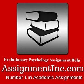 Evolutionary Psychology Assignment Help
