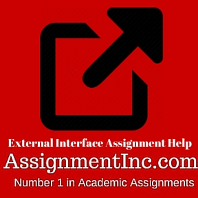 External Interface Assignment Help