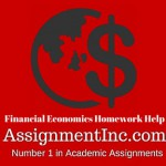 Financial Economics Homework Help