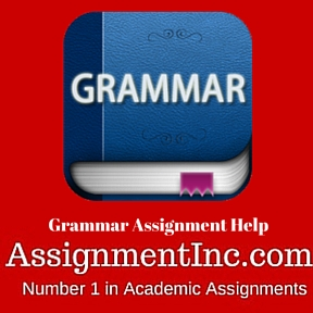 Grammar Assignment Help