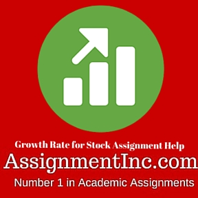 Growth Rate for Stock Assignment Help