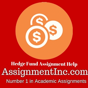 Hedge Fund Assignment Help