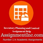 Inventory planning and control