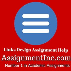 Links Design Assignment Help