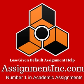 Loss Given Default Assignment Help