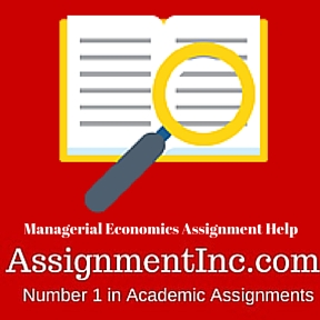 Managerial ECONOMICS  Assignment  Profit Maximization is Not the