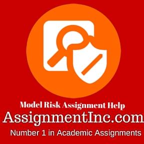 Model Risk Assignment Help