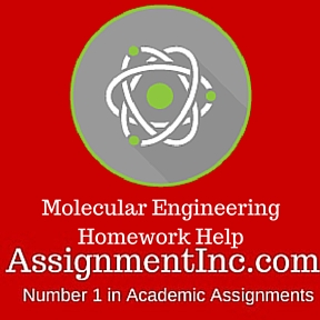 Molecular Engineering Homework Help