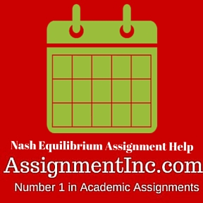 Nash Equilibrium Assignment Help