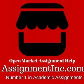 Open Market Assignment Help