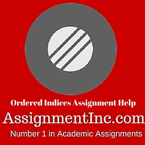 Ordered Indices Assignment Help