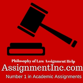 Philosophy of Law Assignment Help