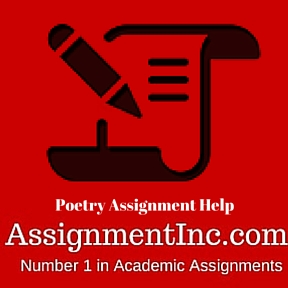 Poetry Assignment Help