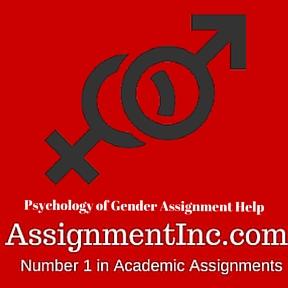 Psychology of Gender Assignment Help