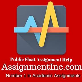 Public Float Assignment Help