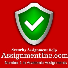 Security Assignment Help