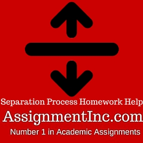 Separation Process Homework Help