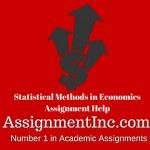Statistical Methods in Economics