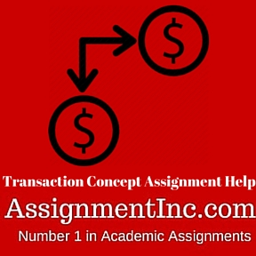 Transaction Concept Assignment Help