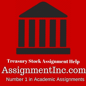 Treasury Stock Assignment Help