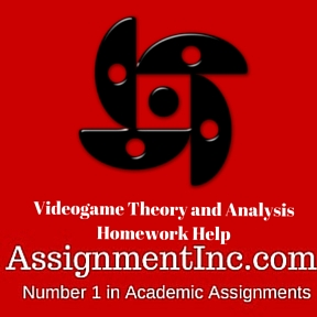 Videogame Theory and Analysis Homework Help