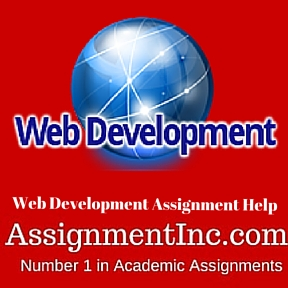 Web Development Assignment Help