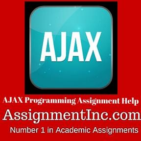AJAX Programming Assignment Help