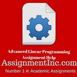 Advanced Linear Programming