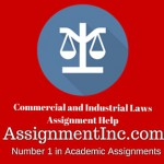 Commercial and Industrial Laws
