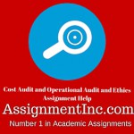 Cost Audit and Operational Audit and Ethics