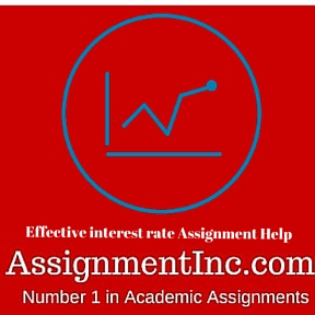 Effective interest rate Assignment Help