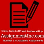 Ethical Analysis of Project