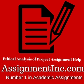 Ethical Analysis of Project Assignment Help